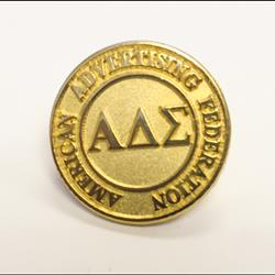 Alpha Delta Sigma Lapel Pin
